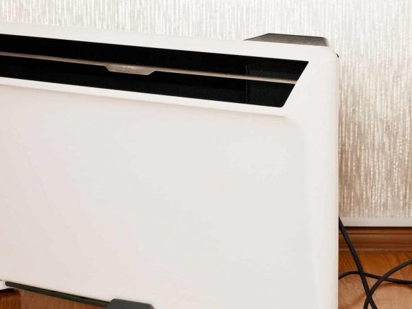Mobile domestic electric convector is designed to heat residential spaces.